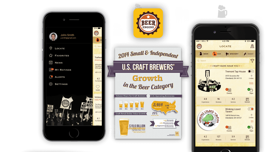 beer engine app mobisoft infotech