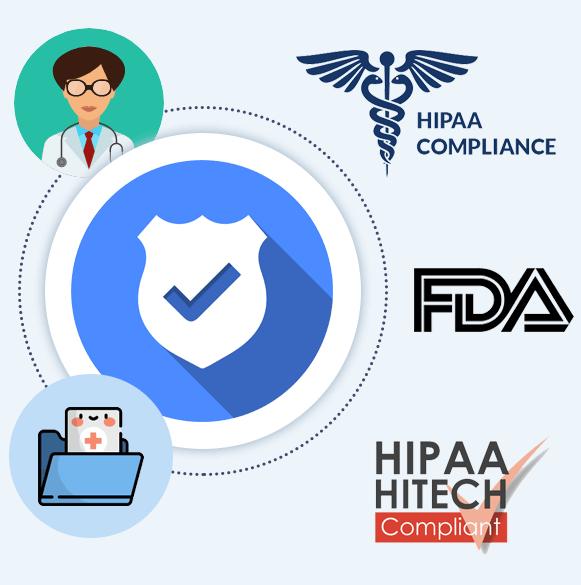 hipaa compliant healthcare app development mobisoft infotech