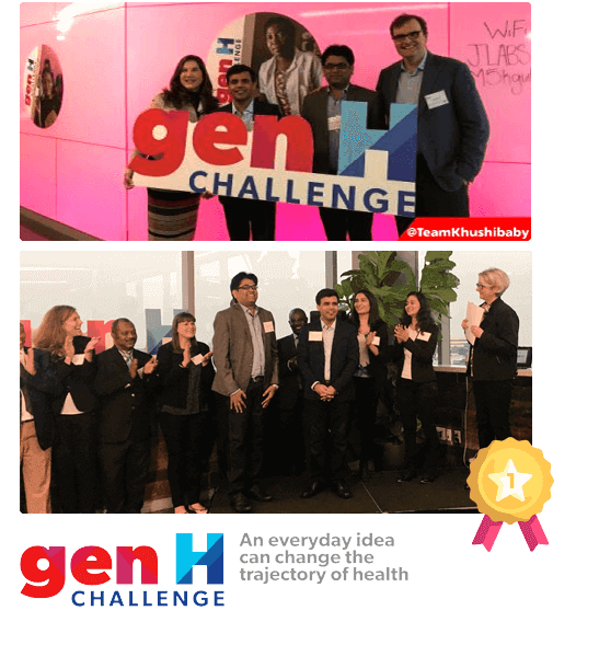 Khushi Baby Wins The Inaugural Johnson & Johnson GenH Challenge