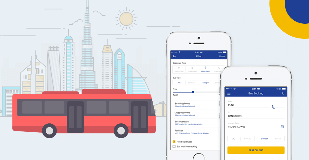 Bus Booking Software And Tracking App - Mobisoft Infotech