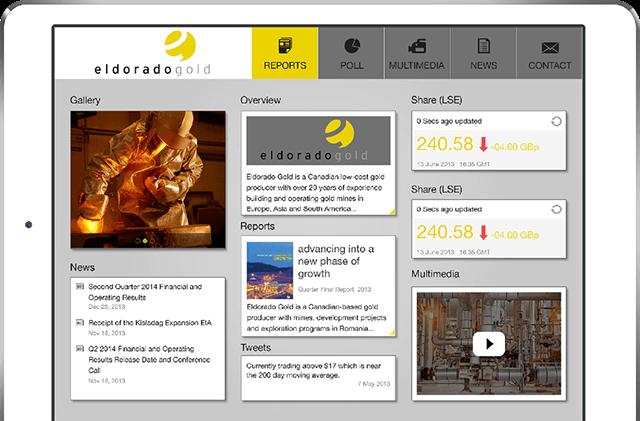 eldorado gold tablet