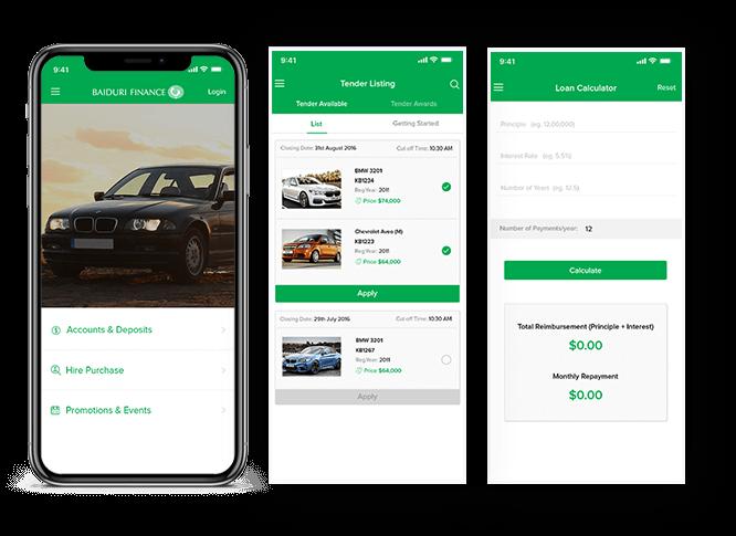 Baiduri Finance App