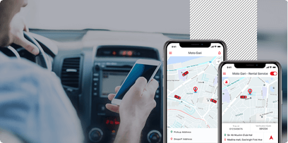 MotoGari - Providing Corporate Car Rental Services, case study Mobisoft Infotech