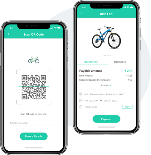 Bicycle Solution Rider App