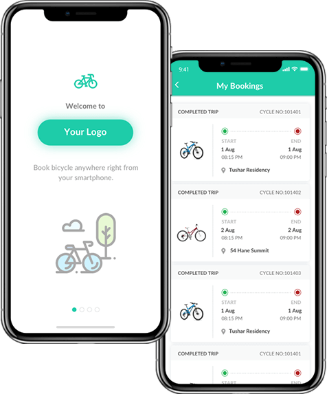 Dockless Bike Sharing Apps