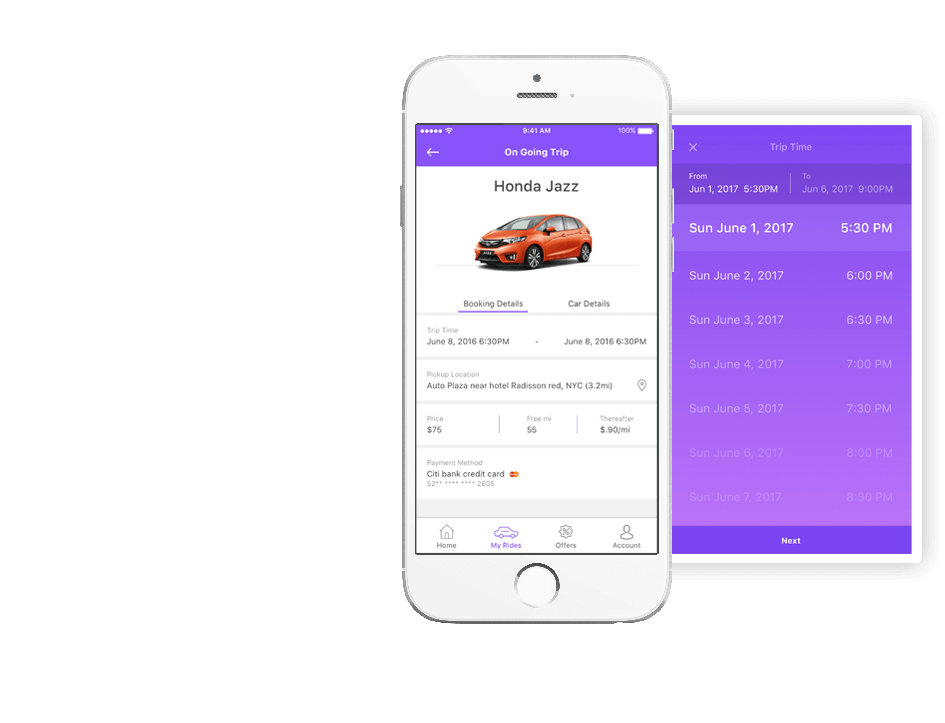car rental app development solution driver app mobisoft infotech