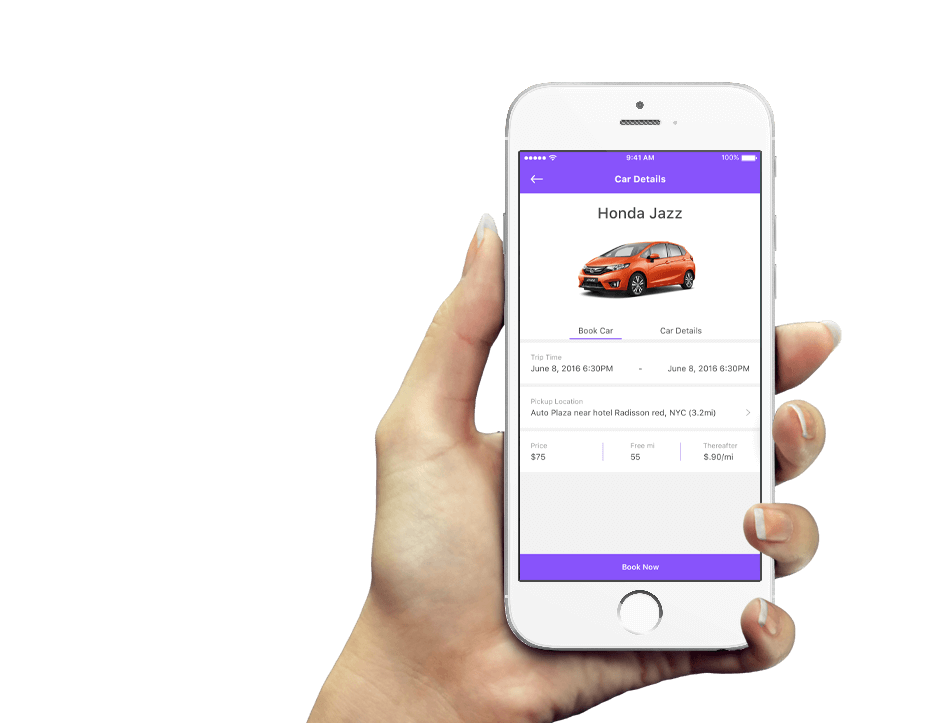 car rental app development solution passenger app mobisoft infotech