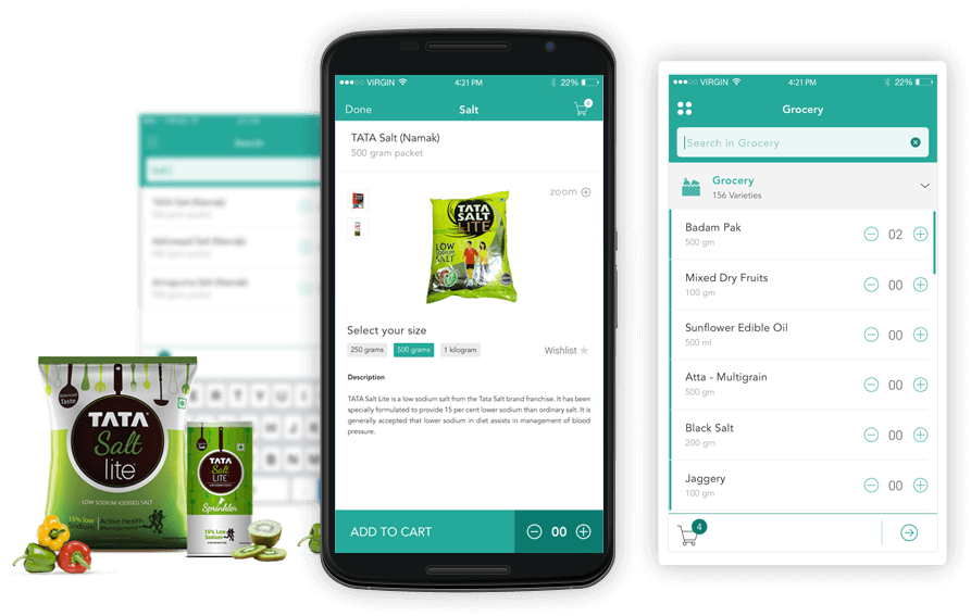 grocerease grocery e-commerce mobisoft infotech