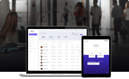 iPad visitor management system by Mobisoft Infotech