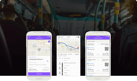 Shuttle service app development by Mobisoft Infotech