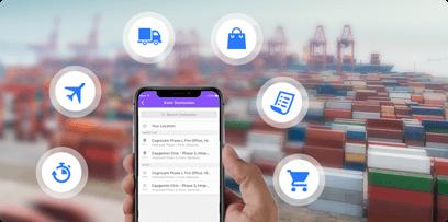 Development Of Smartphone Application: Impacts On Logistics