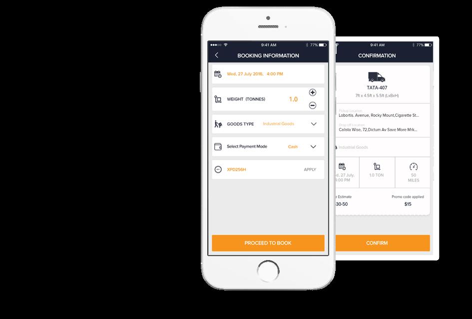 truck pulse driver app by Mobisoft Infotech