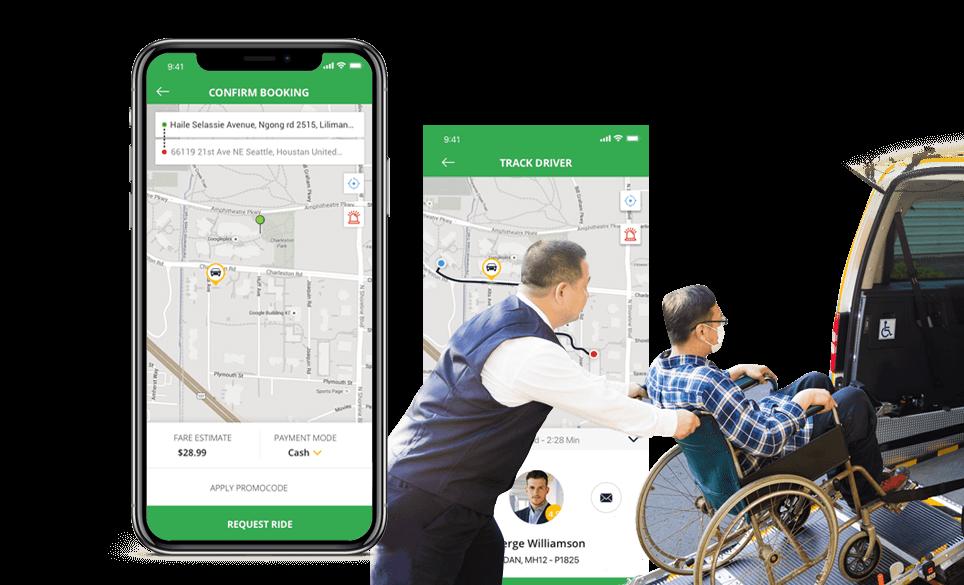 Moovmo - Accessible Rideshare Transportation Solution