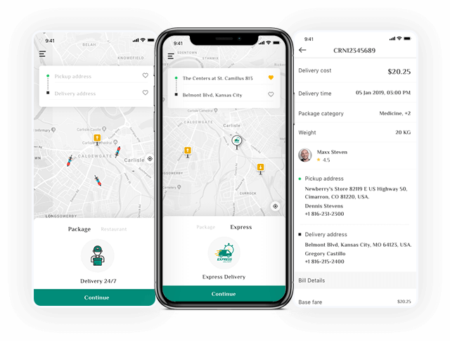 A Last-mile Delivery App