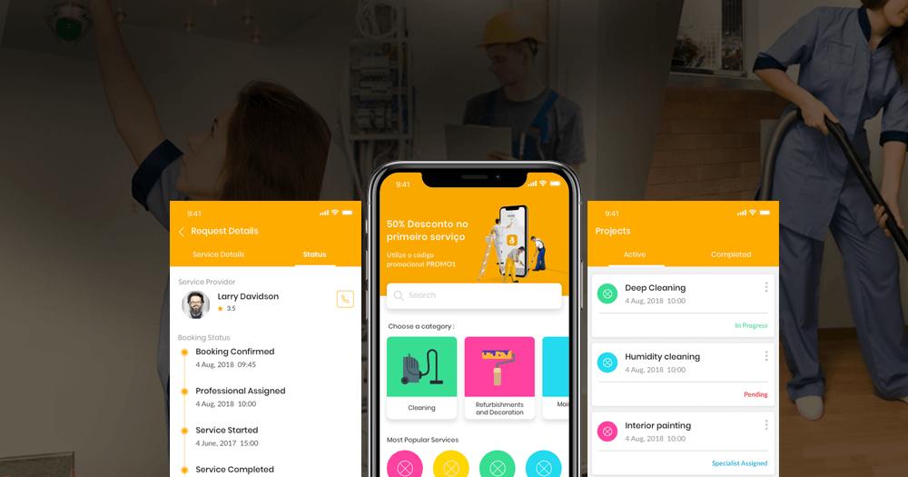 On-Demand Home Services Aggregator Platform for Portugal