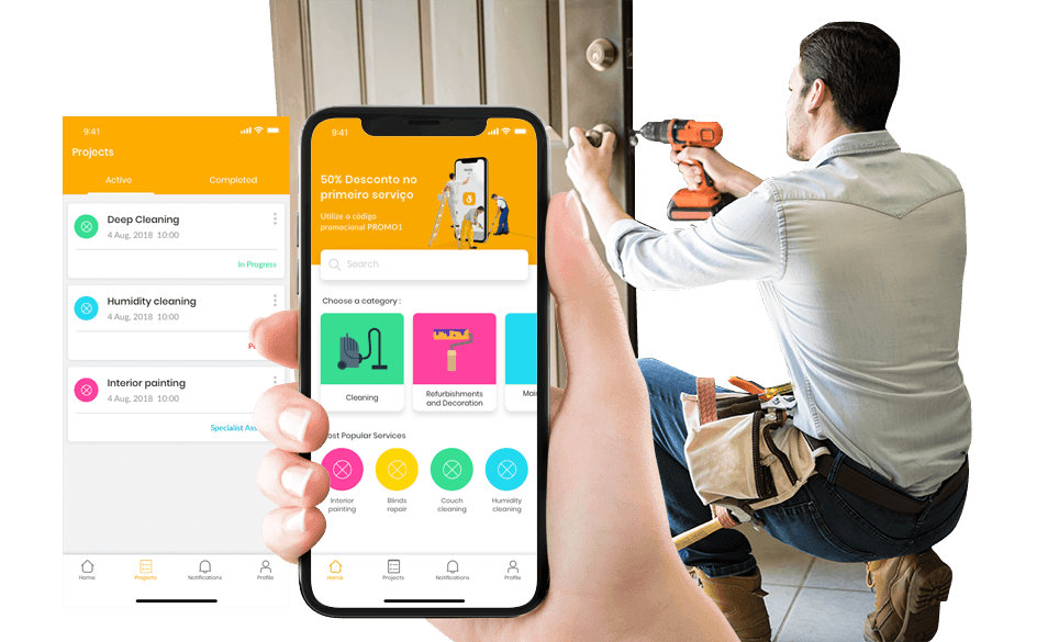 On-Demand Home Services