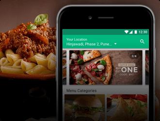 food ordering app Mobisoft Infotech