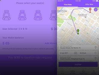 Carpooling and Rideshare Mobisoft Infotech