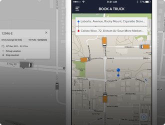 trucking and logistics-app Mobisoft Infotech