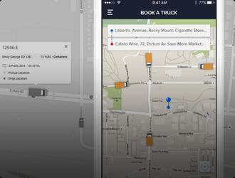 trucking and logistics-app Mobisoft Infotech