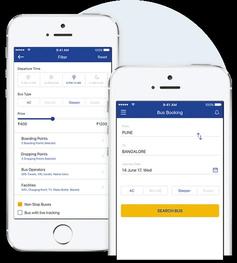 redbus clone app development solution passenger app mobisoft infotech