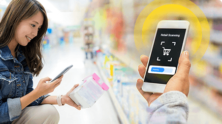 Digital Scanning Solution for Retail by Mobisoft Infotech