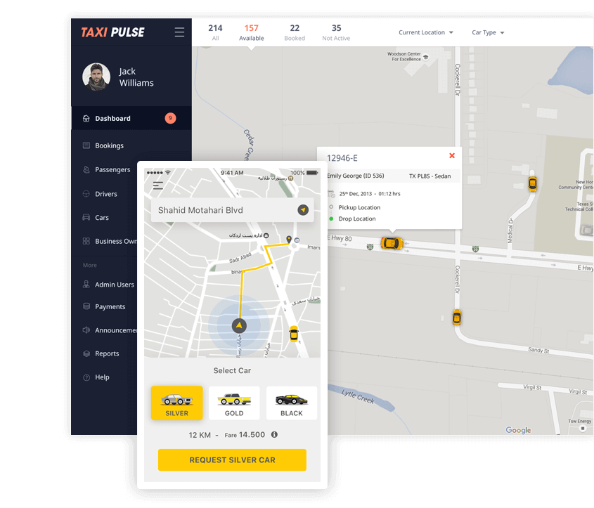 taxi app solution implementation by Mobisoft Infotech