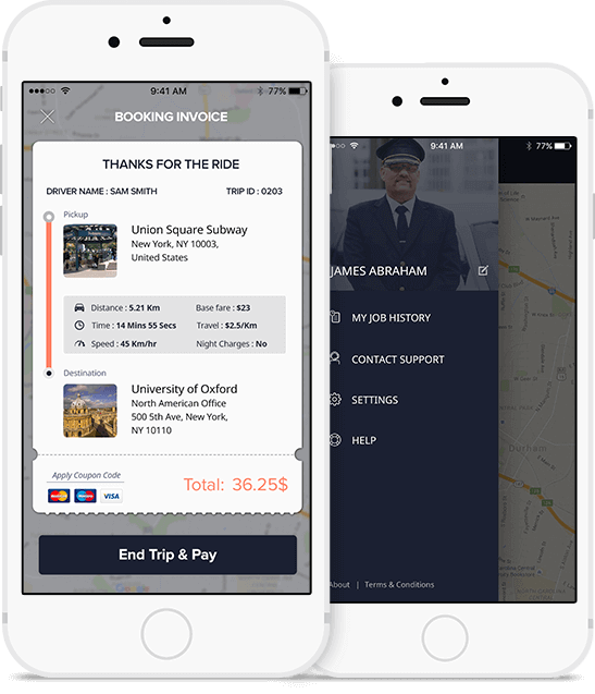 Advanced Taxi App Features