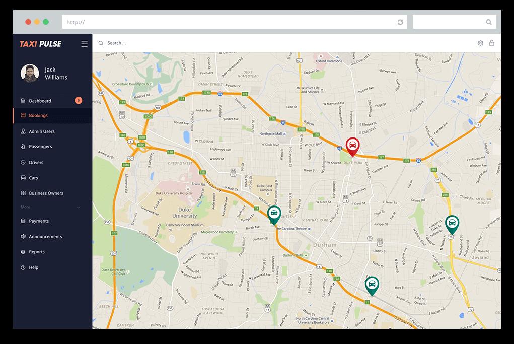 Taxi App Development Solutions