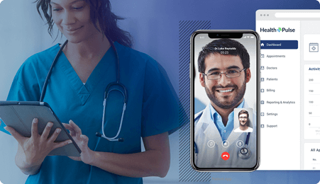 Telemedicine Solution for Healthcare Aggregators by Mobisoft Infotech