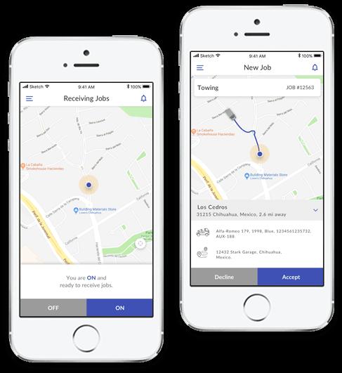 Driver app development solution platform admin panel mobisoft infotech