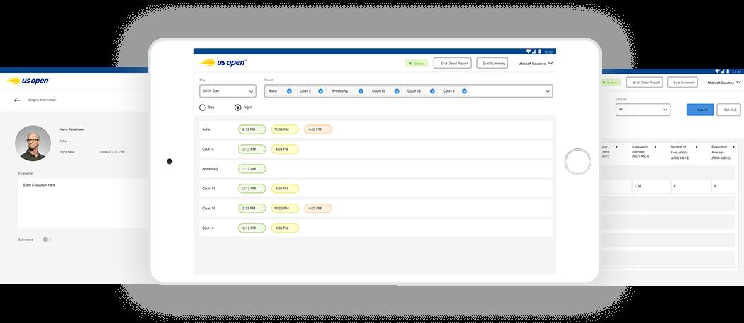 USTA App - Umpire Scheduling Software