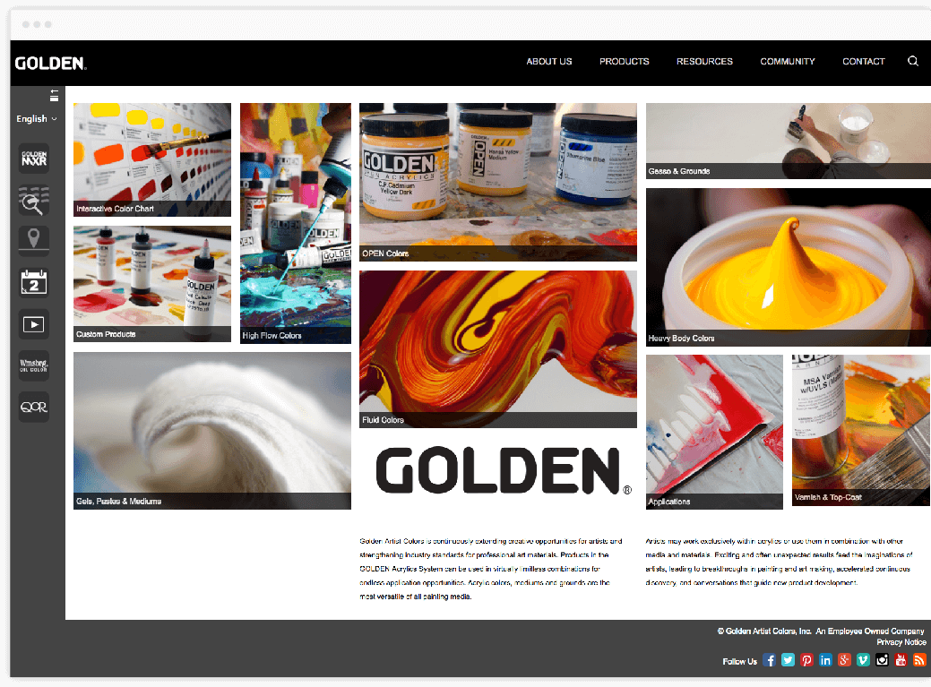 golden paints custom web design and development mobisoft infotech