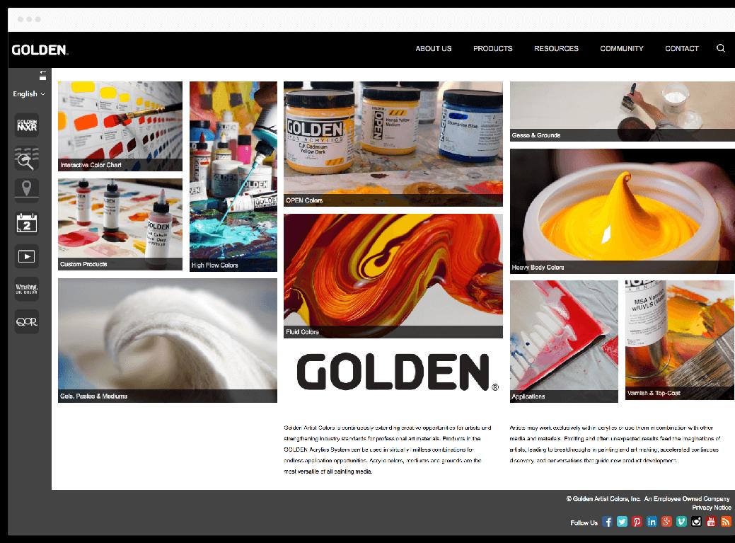 golden paints custom web design and development mobisoft infotech
