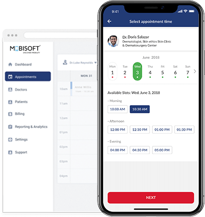 Appointment Scheduling solution Mobisoft Infotech