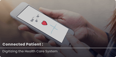 Connected patients in healthcare industry