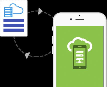 offline synchronization iphone app development company mobisoft infotech