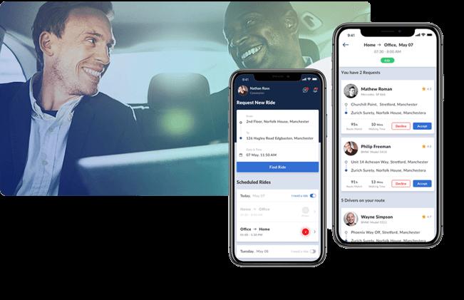 mobisoft infotech Carpool
