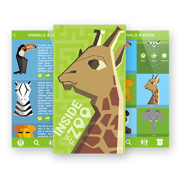 Inside-The-Zoo developed by Mobisoft-Infotech
