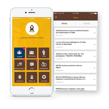 Alumni Management And Engagement Solution Mobisoft Infotech Ionic Framework App Development