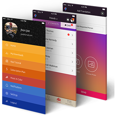 Mobisoft Infotech Client - Music in Color Hire iOS Developers India Mobisoft Infotech