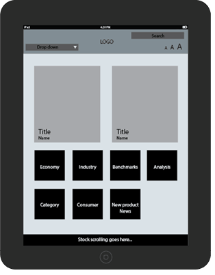 Mobisoft codehappy app wireframe