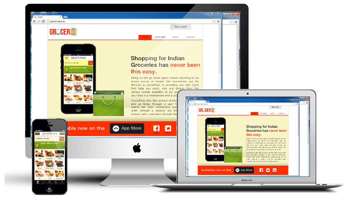 customizable app for grocery business