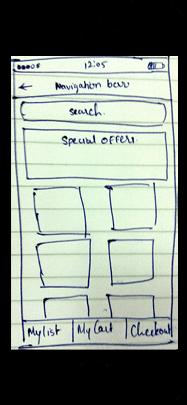 Mobisoft grocer app prototype