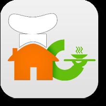 mobisoft home cooks branding logo