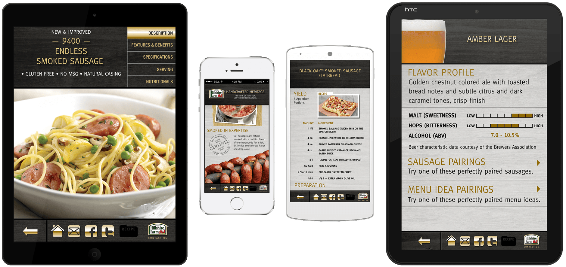 Hillshire Farm Sausage App