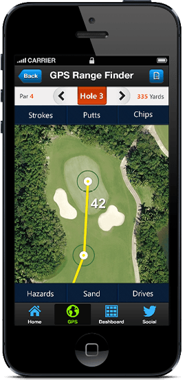 golf gps mobile apps