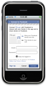 iPhone FBConnect: Facebook Connect Tutorial