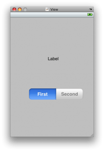 iPhone Segmented Control:UISegmentedControl Tutorial