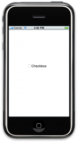 iPhone UIButton tutorial : Custom Checkboxes(CheckBox Unticked)